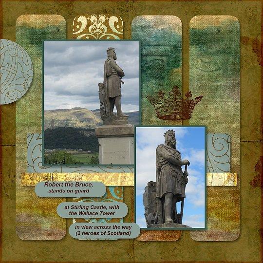 2014, Scotland - April Monthly Sketch Bonus 1