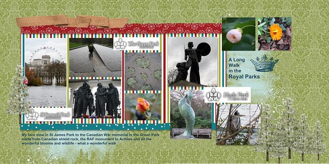 2014, London, A Long Walk in the Royal Parks