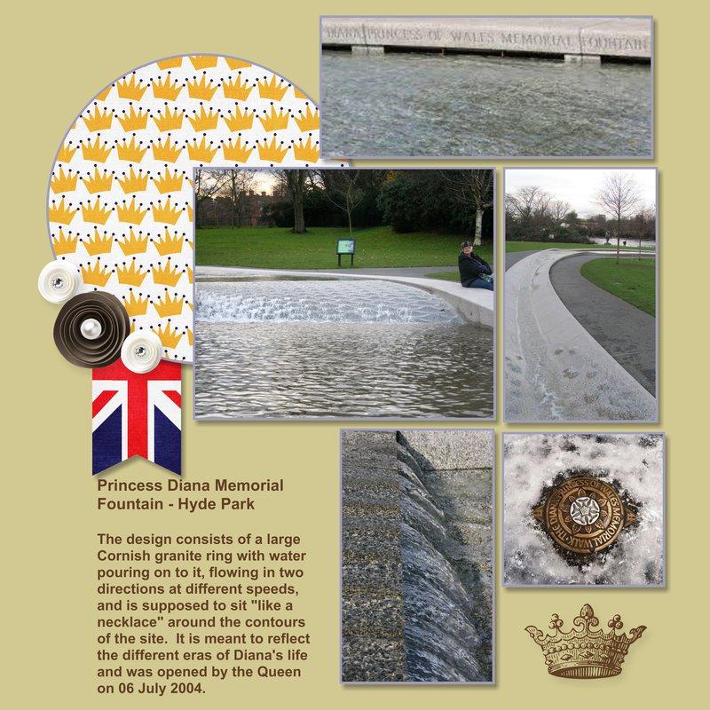 2014, London - Princess Diana Memorial Fountain