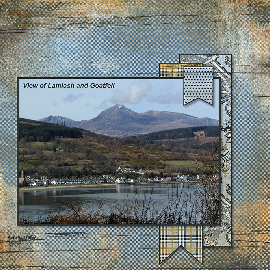 2015, Arran, Lamlash and Goatfell