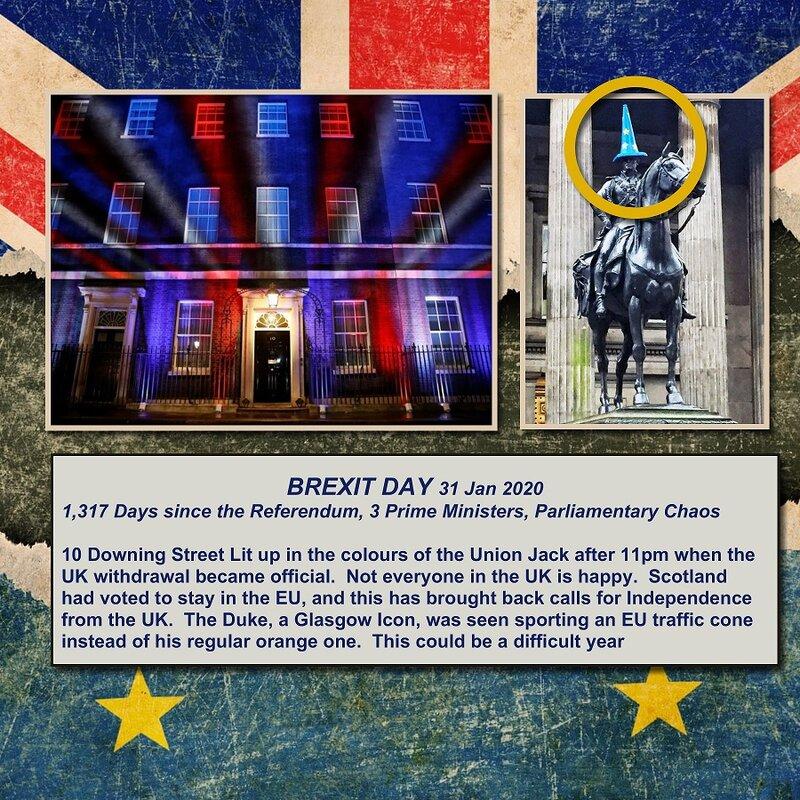 2020, Scotland, Brexit Day