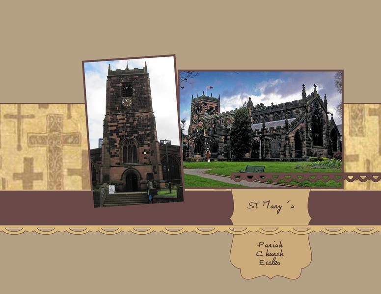 Churches of England - St Mary's Parish Church Eccles
