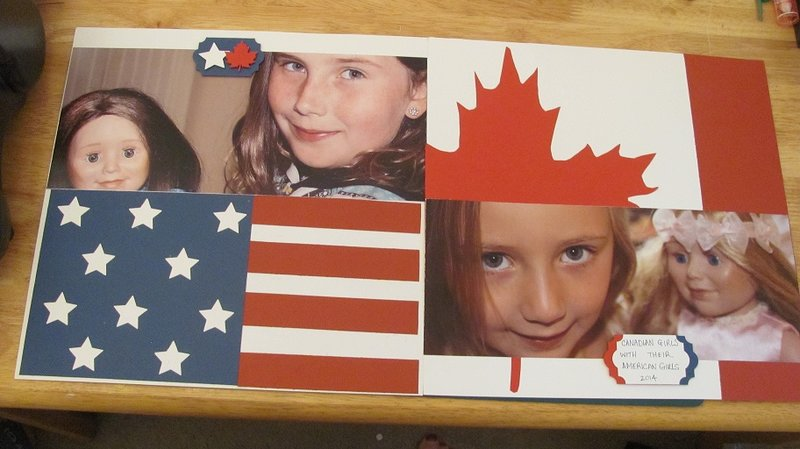 Canadian Girls with their American Girls - No Pattern Paper, Hoarders