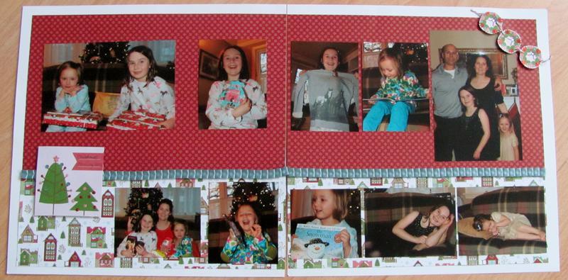 2012 - Chloe and Ella Christmas Morning