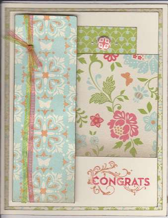 congrats card for a swap