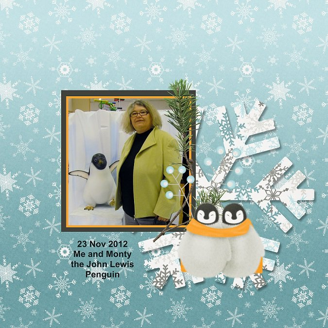 2014 John Lewis Penguin