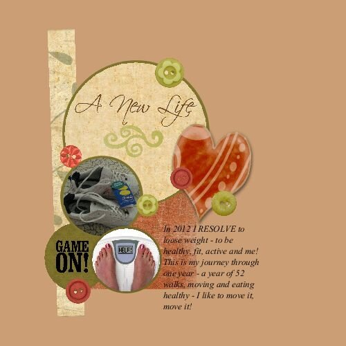 A New Life - 2012 Resolve - Imperfect Life Challenge