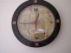 Altered Clock for daughter