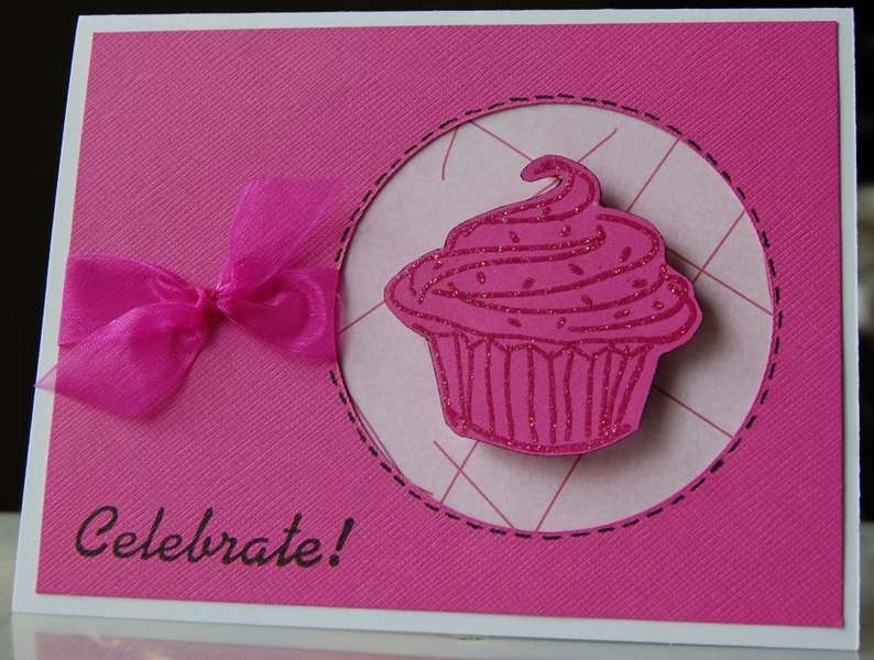 Birthday Cupcake card for Alexis
