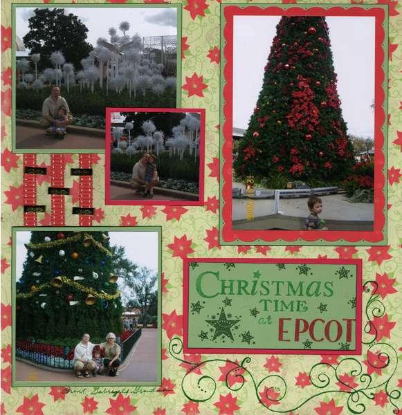 Christmas Time at EPCOT