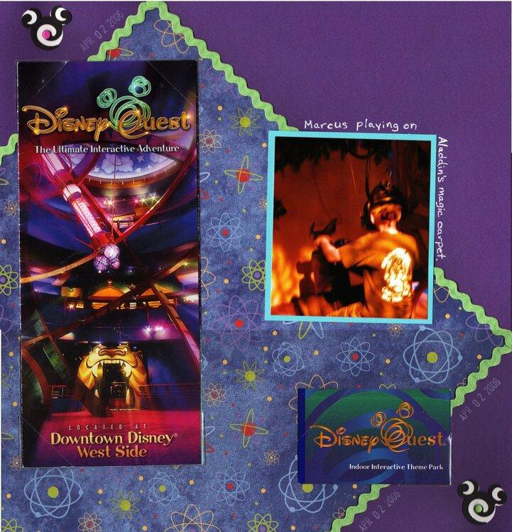 Disney Quest -page 1
