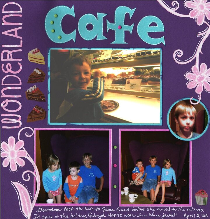 Disney Quest {wonderland cafe} -page 2