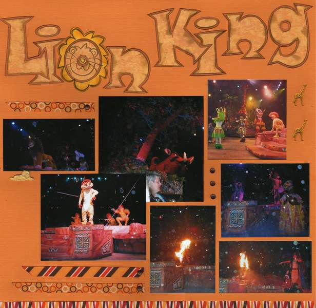 Lion King show - page 1