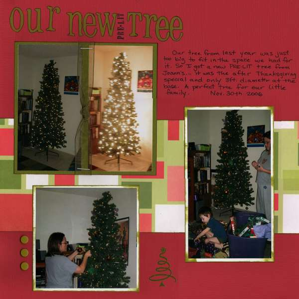 Our New Tree - page 1