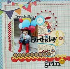 birthday grin