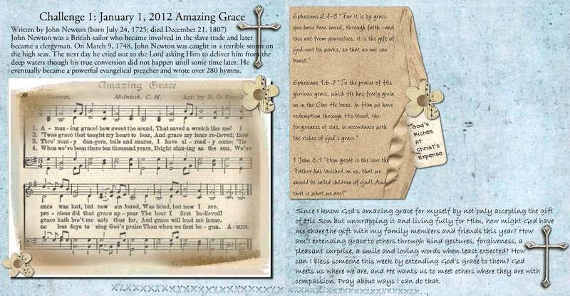 Challenge 1: Amazing Grace