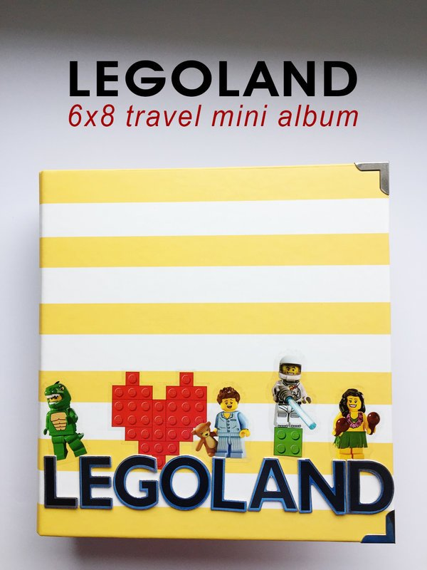 Legoland 6x8 mini travel album
