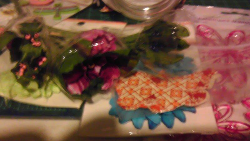 Goodies for Flower Mason Jar