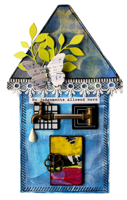Altered wooden house #1