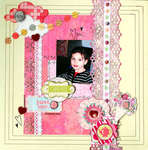 Just me **Scraps of Darkness **August kit Jamaican Sunset