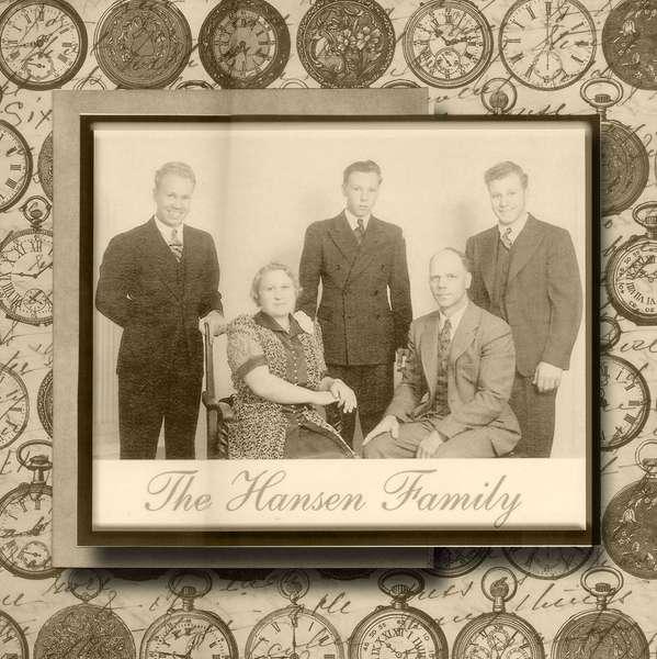 Heritage family photo