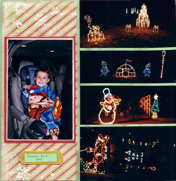 Coonskin Park Christmas Lights 2007