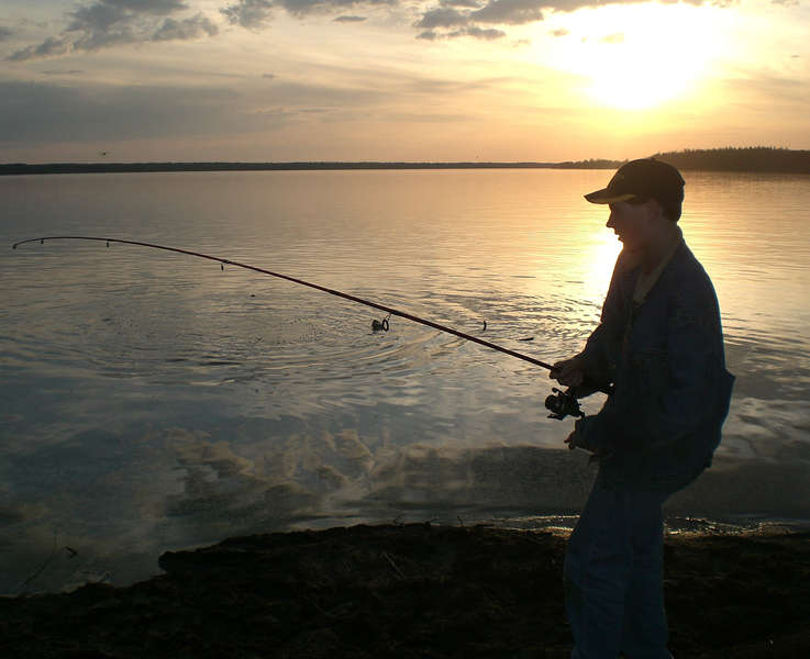 Fishing at The Lake