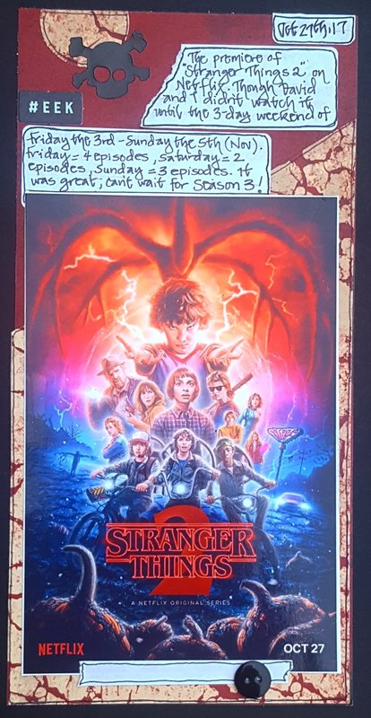 Stranger Things 2 - Oct 27th, 2017