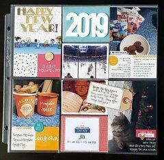2019 PROJECT LIFE - Week 01/Hidden Journaling
