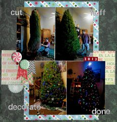Cut, Fluff, Decorate, Done