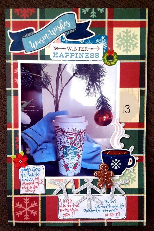 Dec 13 - First Christmas Season Starbucks