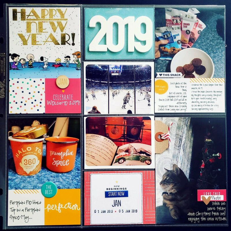 2019 PROJECT LIFE - Week #01