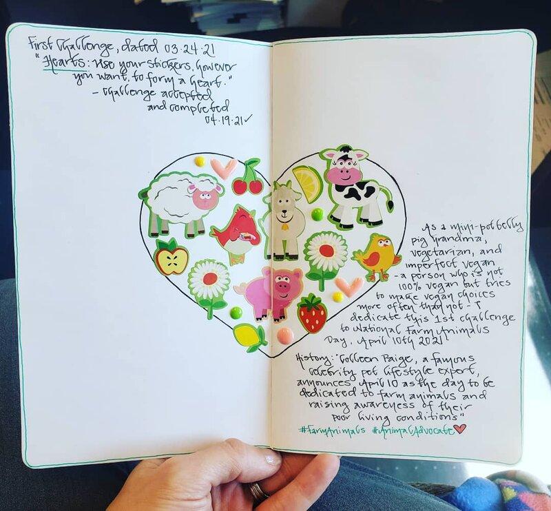 BFF Sticker Club Challenge #1 - Hearts