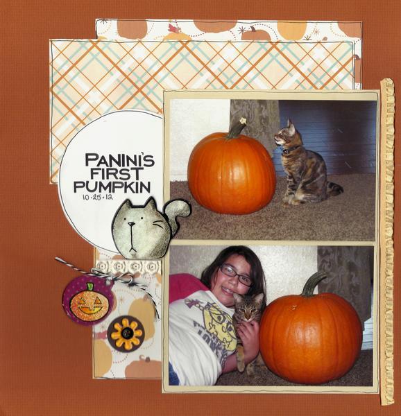 Panini's First Pumpkin