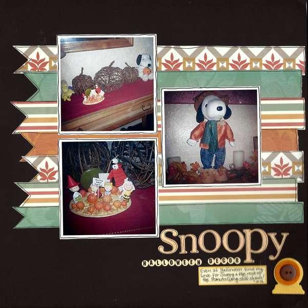 Snoopy Halloween Decor