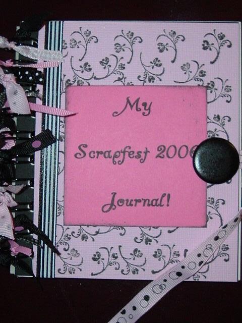 My scrapfest journal