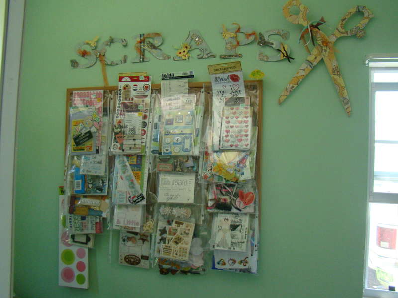 Scrap room- Sticker storage