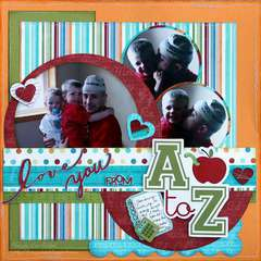 Love you from A to Z!