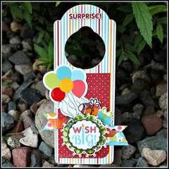 Happy Birthday Door Hanger!