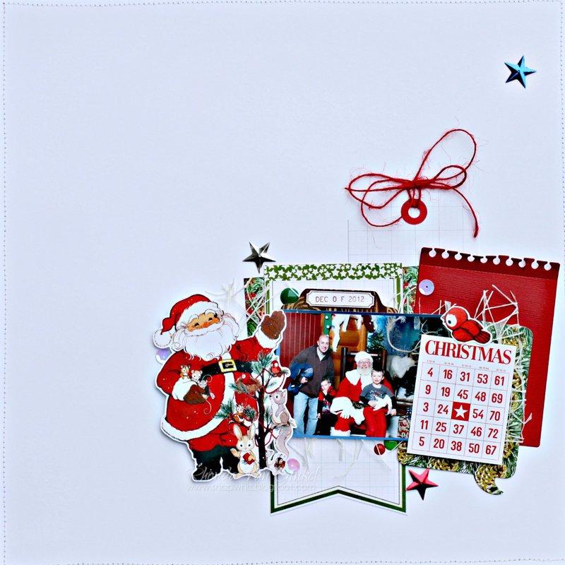 Santa... Not so sure? - *Pretty Little Studio*