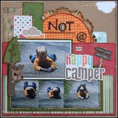 NOT a very happy camper