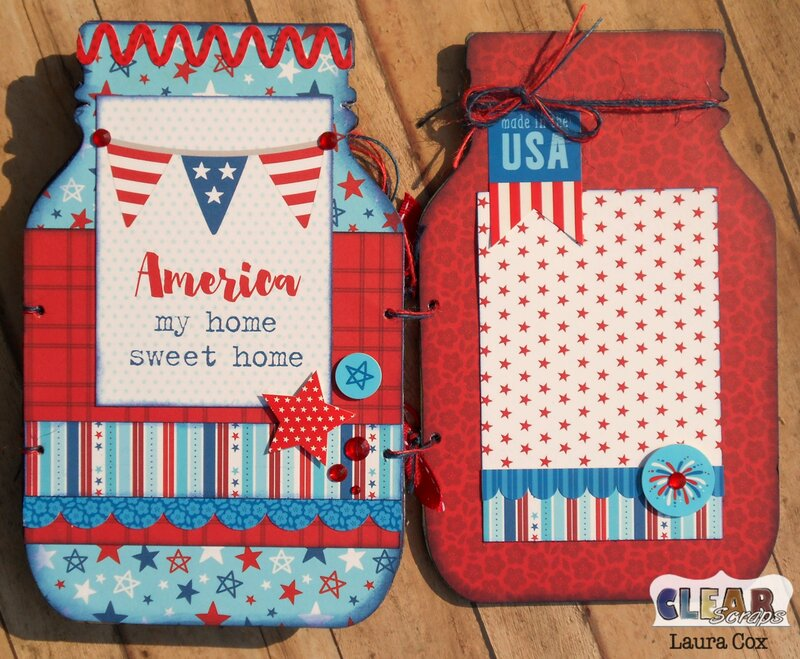 Stars and Stripes Mason Jar page 3 and 4