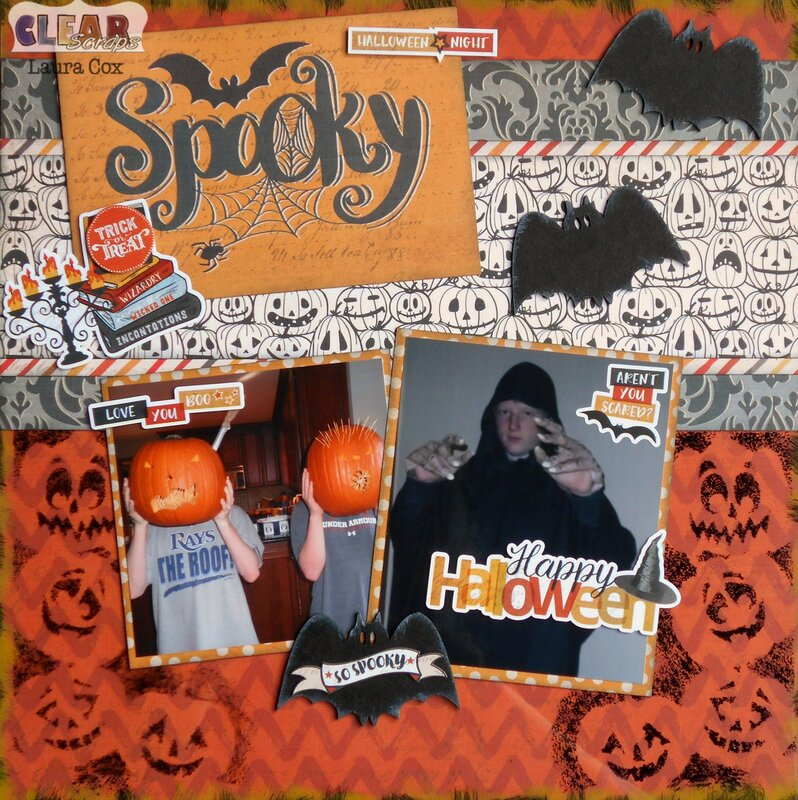 Spooky Halloween Acrylic LO