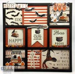 Happy Halloween Printer's Tray