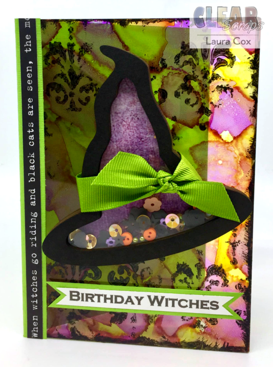 Birthday Witches Card