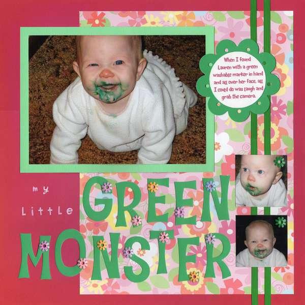 My Little Green Monster