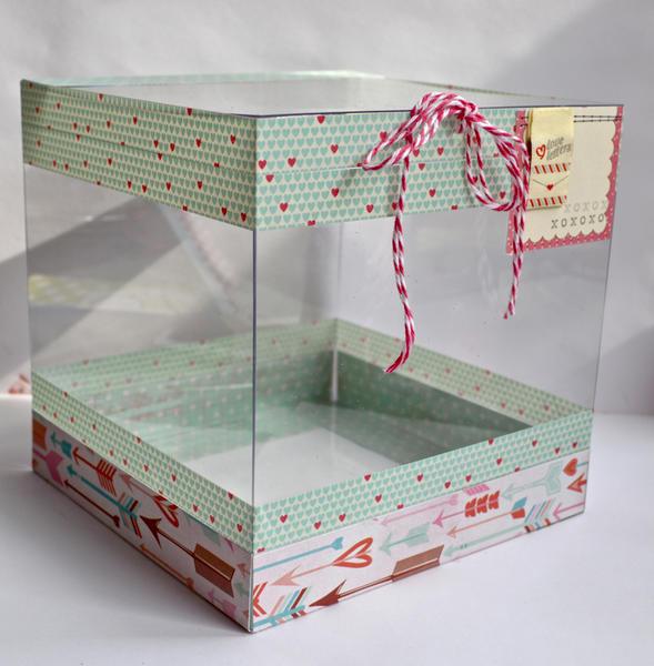 Clear Acrylic Box (Valentine's Box)