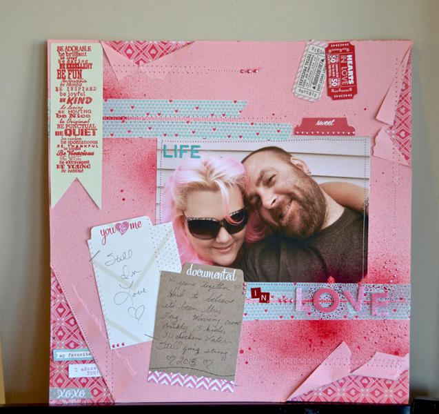 Stamped layout by Pinky