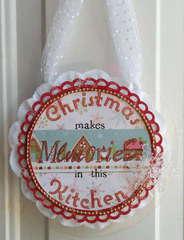 Acrylic Christmas Sign