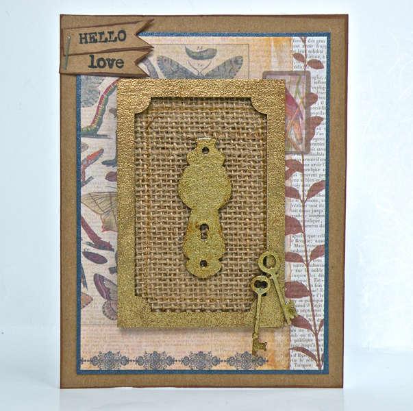 Lock & Key Card